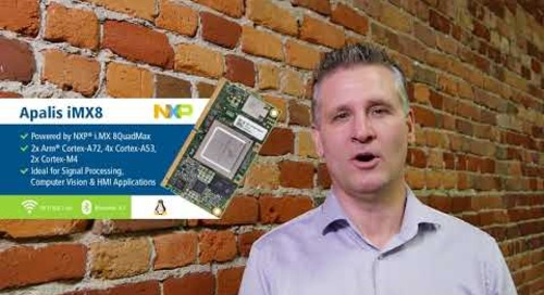 Toradex Update Jan 2018 - Embedded World, i.MX 8, i.MX 6ULL, and more