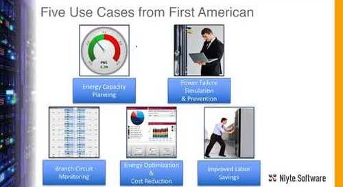 Learn How First American Reduces Cost and Hardens Power Chain - Webinar Recording