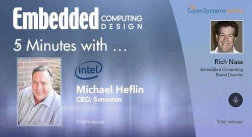 Five Minutes With…Michael Heflin, CEO, Sensuron