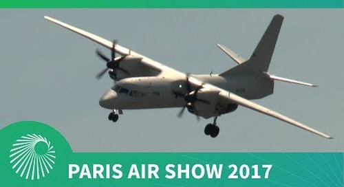 Paris Air Show 2017: Antonov's AN-132D transport and special missions aircraft