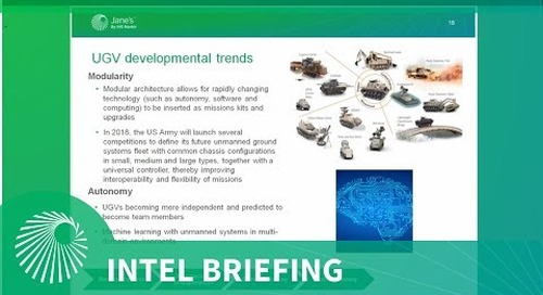 Intel briefing: UGVs for the modern battlefield