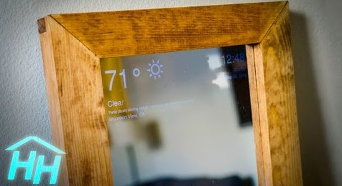 How to Make a Raspberry Pi Smart Mirror