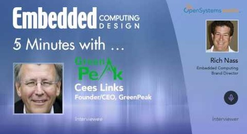 Five Minutes With… Cees Links, Founder/CEO, GreenPeak