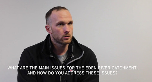 Will Cleasby, Eden Rivers Trust