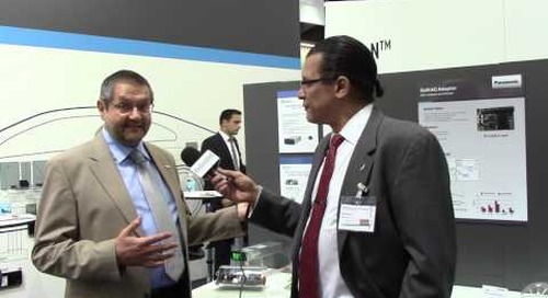 PCIM: Panasonic talks GaN devices