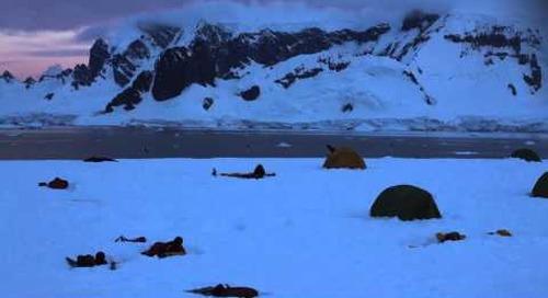 Timelapse: Summer Solstice in Antarctica