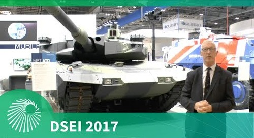 DSEI 2017: The MBT Advanced Technology Demonstrator from Rheinmetall