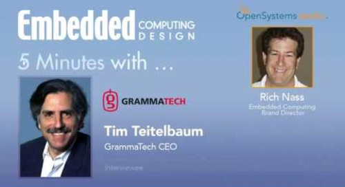 Five Minutes With… Tim Teitelbaum, GrammaTech CEO