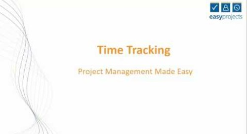 Easy Projects Tutorial - Timetracking