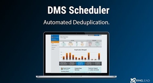 DMS Cleanse's Scheduler