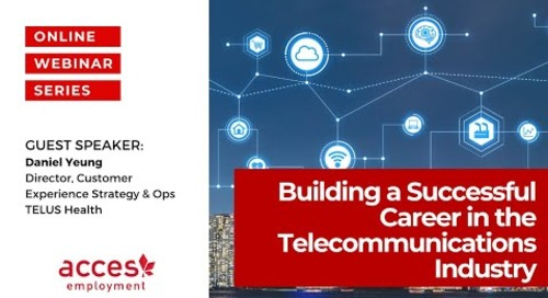 Building a Successful Career in the Telecommunications Industry