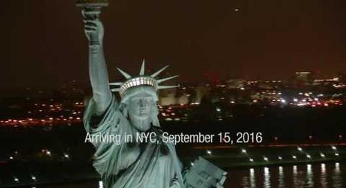 Rubik™ Lights Up New York Sept. 15, 2016 -- Skyscrapers