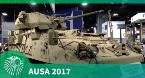 AUSA 2017: Stryker dragoon from General Dynamics Land Systems