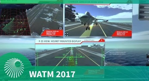 WATM 2017: Precision landing with JPALS