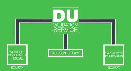 Fannie Mae Introduces the DU® Validation Service