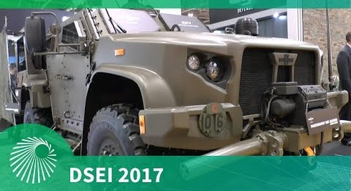 DSEI 2017: Joint Light Tactical Vehicle - Oshkosh