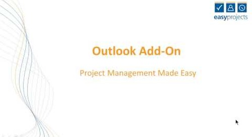 Easy Projects Tutorial - Outlook Plug in