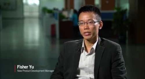 Fisher Yu, Gerente de Desenvolvimento de Novos Produtos, sobre Novos Produtos