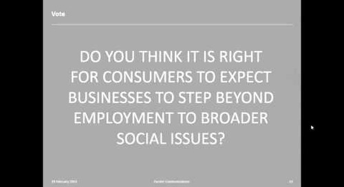 BITC & Forster Communications Webinar: Bringing Business to Society