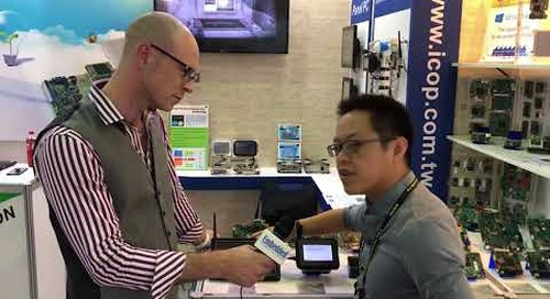 ICOP Technology reveals Android HMI at Computex 2018