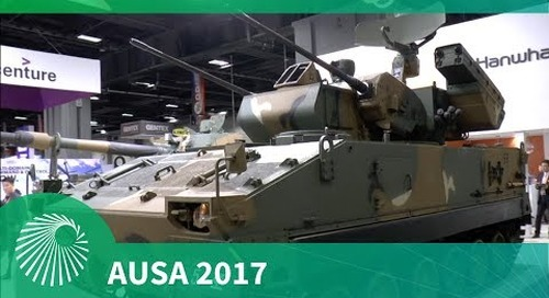 AUSA 2017: Flying Tiger Self-propelled Air-defence System