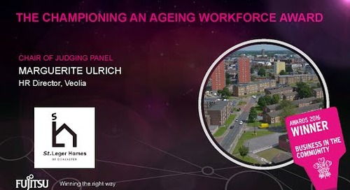 The Championing an Ageing Workforce award winner 2016 - St Leger - Judges comments