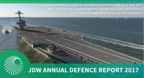 JDW Annual Defence Report 2017: What does this mean for 2018?