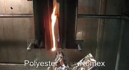 Brass vs Brass Nomex® tape zipper
