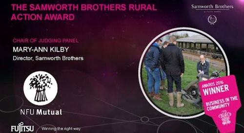 The Rural Action Award - NFU Mutual - Judges Comments