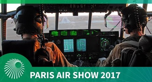 Paris Air Show 2017: Lockheed Martin's special forces Hercules, the C130J-SOF