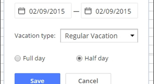 Now Supported: Half Day Vacations