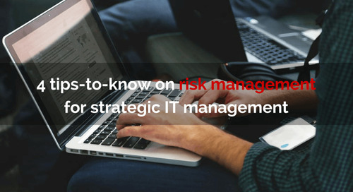 4 tips-to-know on risk management for strategic IT management