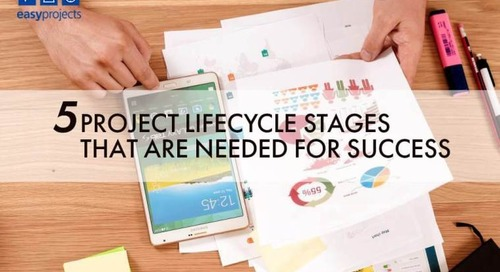 5 project lifecycle stages that are needed for success