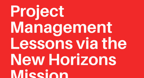 Project Management Lessons from the New Horizons Mission to Pluto