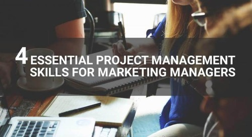 4 essential project management skills for marketing managers