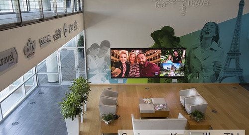NanoLumens Nixel Series™ Display Shines At Scripps Networks Interactive's Knoxville Headquarters