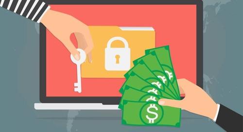 Ransomware versleutelt bestanden Android-gebruikers