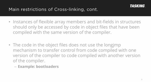 Mixing Compiler Output