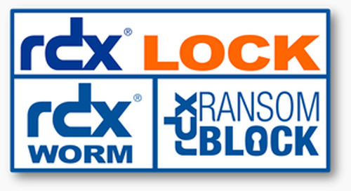 Overland-Tandberg's rdxLOCK Software blocks software security threats like RansomwareRansomBlock function for ...