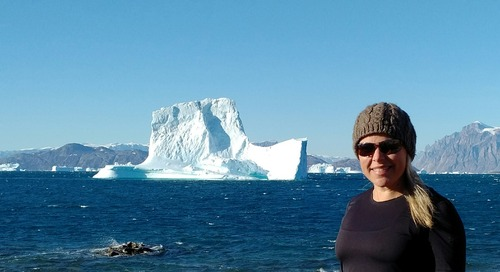 Retreating into Greenland's Fjords: One Woman's Arctic Expedition Journey