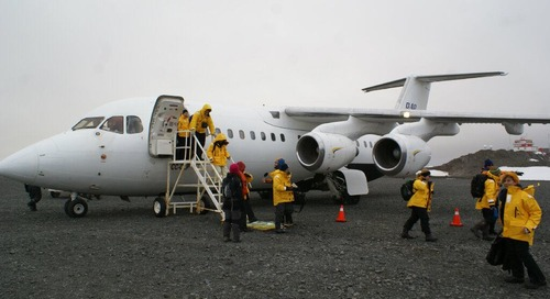 Flying to Antarctica - not just for birds!