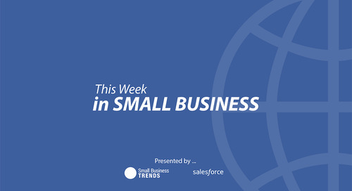 This Week in Small Business, Amazon Says It's You, Not Us