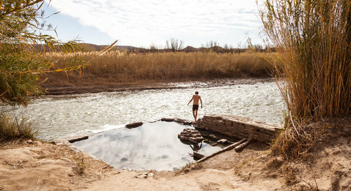 Along the Rio Grande, a Hot Spring and a Warm Welcome