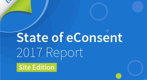 State of eConsent 2017 Report - Site Edition