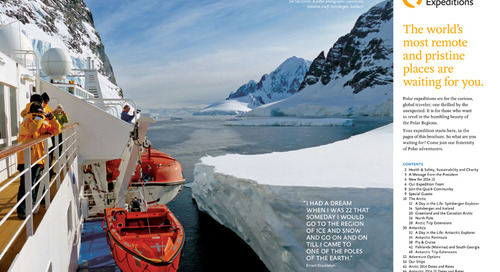 Quark 2014.15 New Brochure: Behind the Scenes