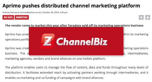Aprimo pushes distributed channel marketing platform [ChannelBiz]