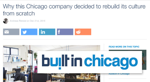 Why this Chicago company decided to rebuild its culture from scratch [Built in Chicago]