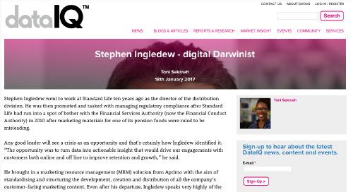 Stephen Ingledew - Digital Darwinist [Digital IQ]