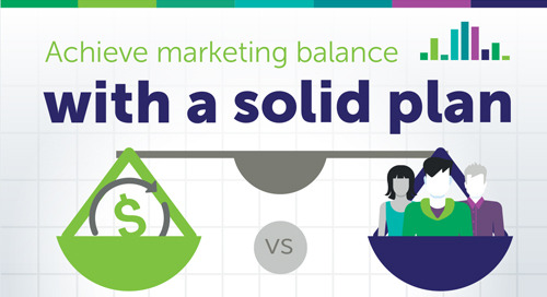 Achieve Marketing Balance with a Solid Plan [Infographic]