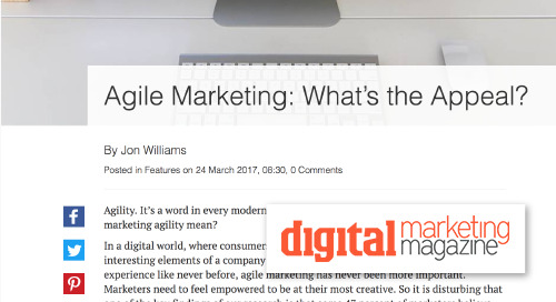 Agile Marketing: What's the Appeal? [Digital Marketing Magazine]